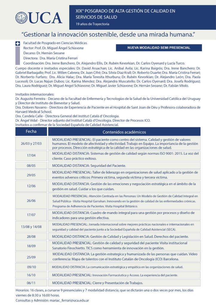 Programa Posgrado Calidad 2020_Semi-presencial
