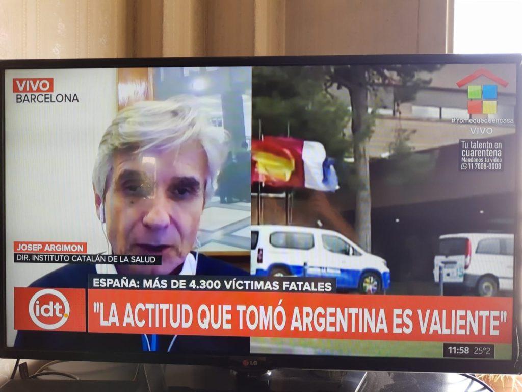 JOSEP MARIA ARGIMON EN AMERICA TV
